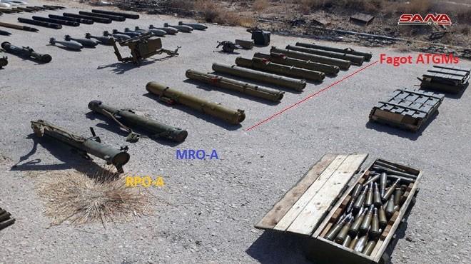Quân đội Syria chiếm lượng vũ khí lớn của khủng bố tại tử địa Deir Ezzor ảnh 4