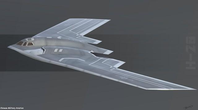 Trung Quốc phát triển thành công máy bay ném bom chiến lược tàng hình ảnh 4