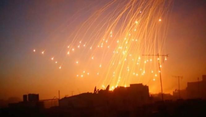 Mỹ lại sử dụng vũ khí hóa học tại Syria ảnh 1