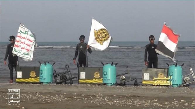 Truyền thông Yemen tung video khoe sức mạnh đặc nhiệm hải quân Houthi ảnh 3