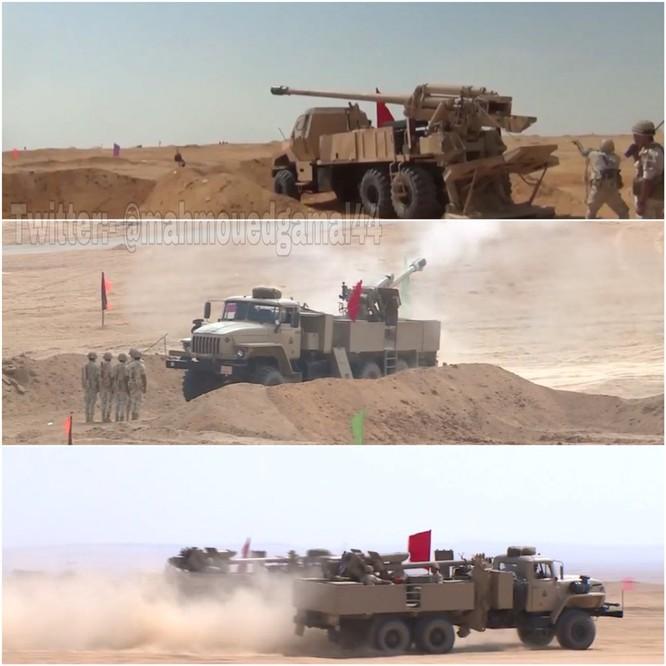 Tăng Mỹ Abrams gầm thét với hỏa lực yểm trợ của Shilka và Grad Nga ảnh 8