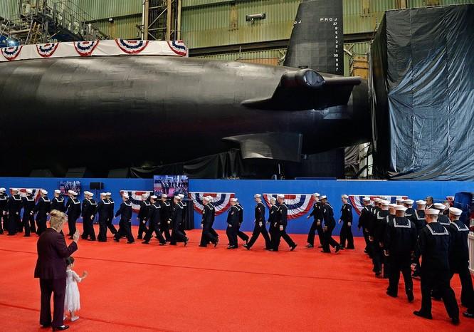 Hải quân Mỹ hạ thủy 2 tàu ngầm nguyên tử tấn công lớp Virginia ảnh 2