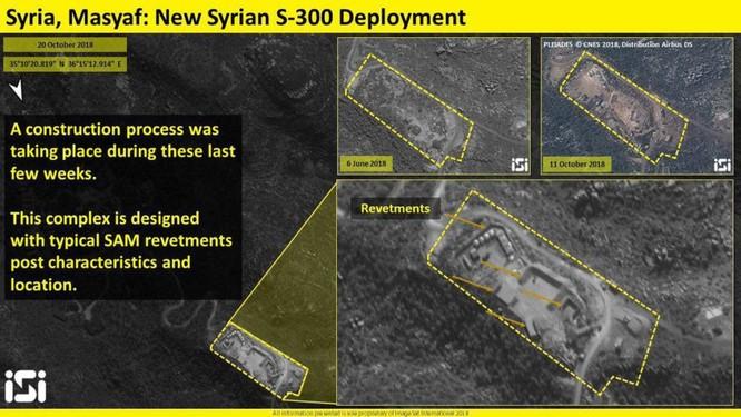 Israel công bố ảnh vệ tinh phơi bày hệ thống S-300 Syria ảnh 1