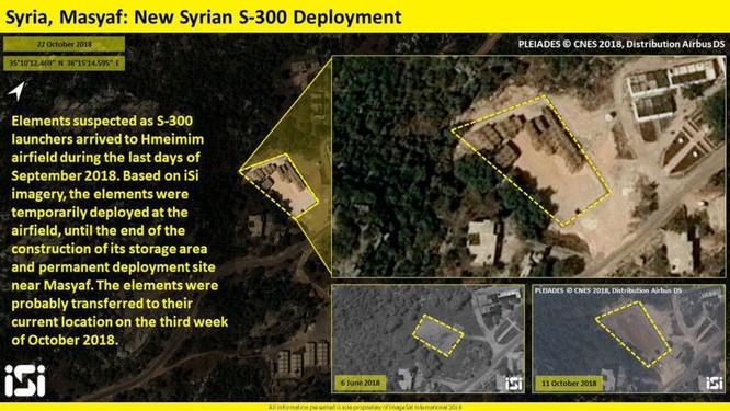 Israel công bố ảnh vệ tinh phơi bày hệ thống S-300 Syria ảnh 2