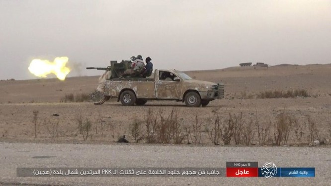 Lực lượng Dân chủ Syria diệt 37 tay súng khủng bố, IS công bố ảnh chiến thắng người Kurd ảnh 1