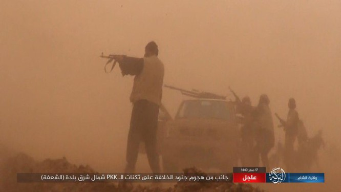 Lực lượng Dân chủ Syria lại thảm bại trước IS, hàng chục chiến binh thiệt mạng ảnh 2