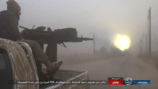 Lực lượng Dân chủ Syria lại thảm bại trước IS, hàng chục chiến binh thiệt mạng ảnh 9