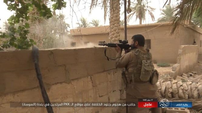 Lực lượng Dân chủ Syria lại thảm bại trước IS, hàng chục chiến binh thiệt mạng ảnh 14