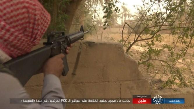 Lực lượng Dân chủ Syria lại thảm bại trước IS, hàng chục chiến binh thiệt mạng ảnh 15