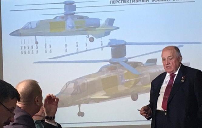 Lộ mô hình thiết kế trực thăng tương lai Kamov có thể bay với tốc độ 700km/h ảnh 3