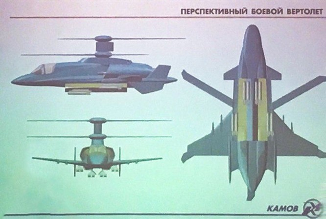 Lộ mô hình thiết kế trực thăng tương lai Kamov có thể bay với tốc độ 700km/h ảnh 1