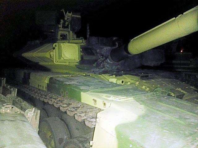 Những chiếc tăng T-90S Việt Nam đã xuất hiện trên thao trường Nga ảnh 1