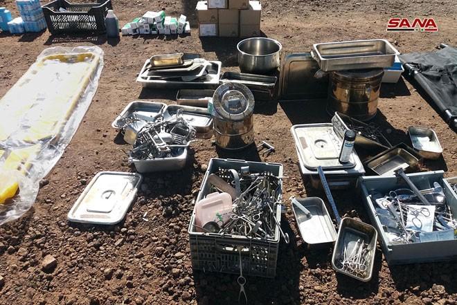 An ninh quân đội Syria phát hiện một số lượng lớn vũ khí ở Quneitra và Daraa ảnh 1