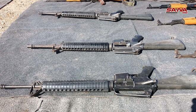An ninh quân đội Syria phát hiện một số lượng lớn vũ khí ở Quneitra và Daraa ảnh 2