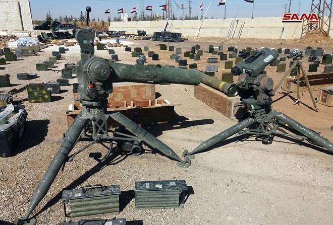 An ninh quân đội Syria phát hiện một số lượng lớn vũ khí ở Quneitra và Daraa ảnh 3