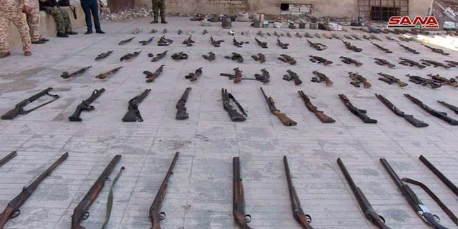 Quân đội Syria thu giữ một kho vũ khí lớn trong địa phận tỉnh Homs ảnh 1