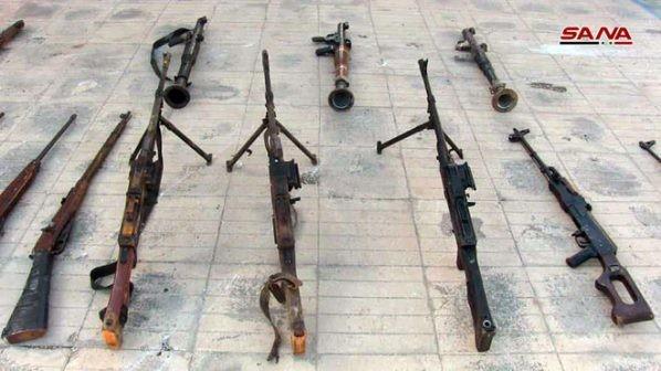 Quân đội Syria thu giữ một kho vũ khí lớn trong địa phận tỉnh Homs ảnh 2