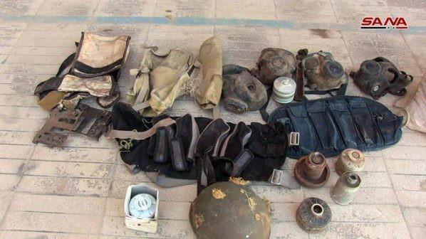 Quân đội Syria thu giữ một kho vũ khí lớn trong địa phận tỉnh Homs ảnh 5