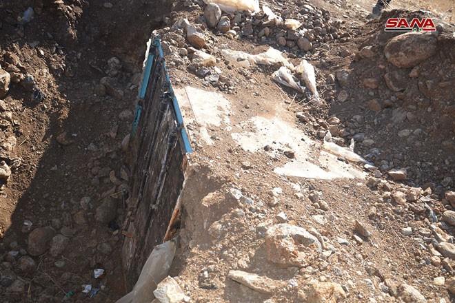Syria phát hiện hàng trăm mìn chống tăng của khủng bố ở Quneitra ảnh 1