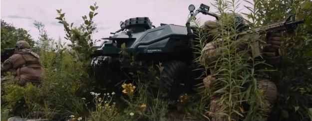 Đức phát triển xe không người lái đa năng cho bộ binh tương lai ảnh 3
