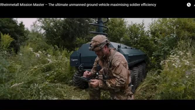 Đức phát triển xe không người lái đa năng cho bộ binh tương lai ảnh 4