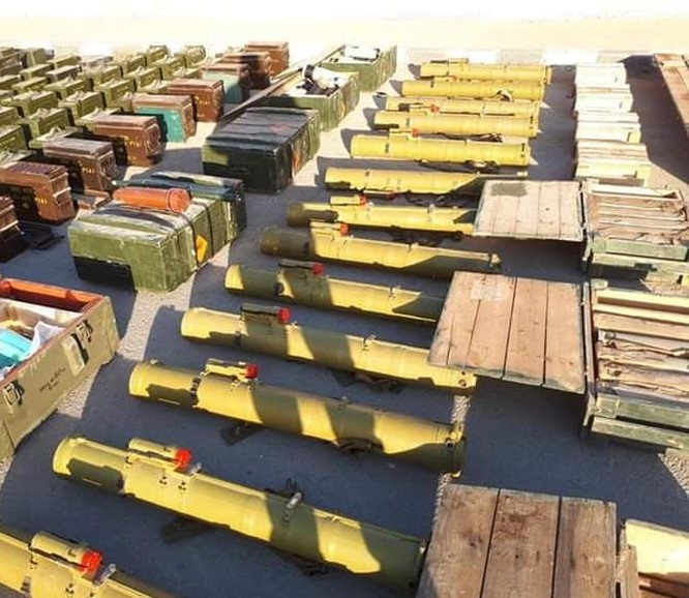 Quân đội Syria thu khối lượng lớn vũ khí của khủng bố ở Daraa, Quneitra ảnh 1