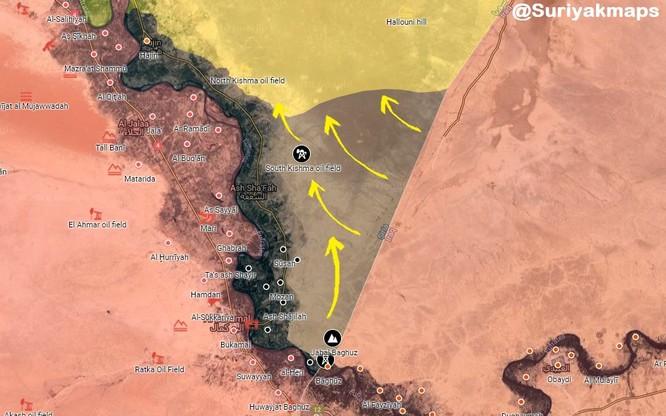 Chiến tranh Syria năm thứ 8, IS và Thổ Nhĩ Kỳ đồng loạt tấn công người Kurd. ảnh 5