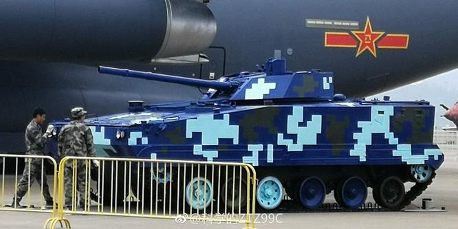 """Trung Quốc trưng bày xe thiết giáp """"nhái"""" của Nga ảnh 1"""