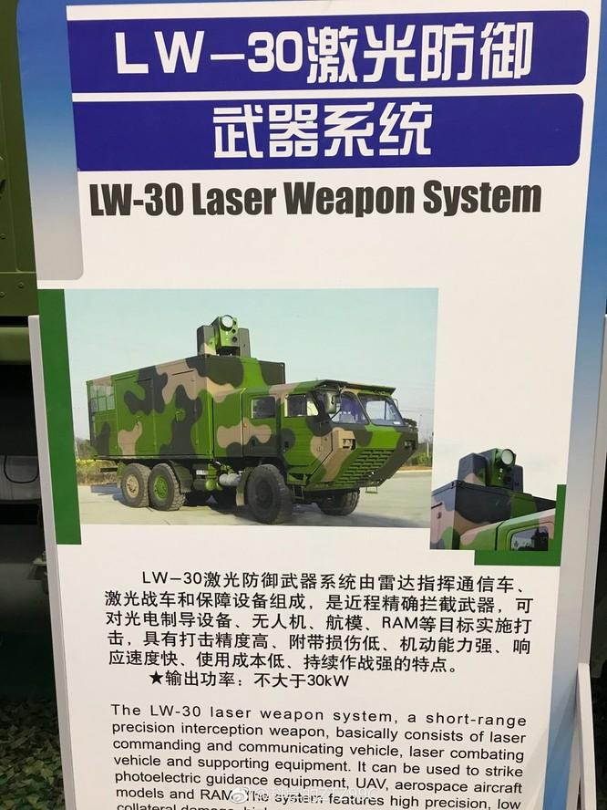 Trung Quốc trưng bày vũ khí laser hạ máy bay tầm bắn 25km ảnh 4