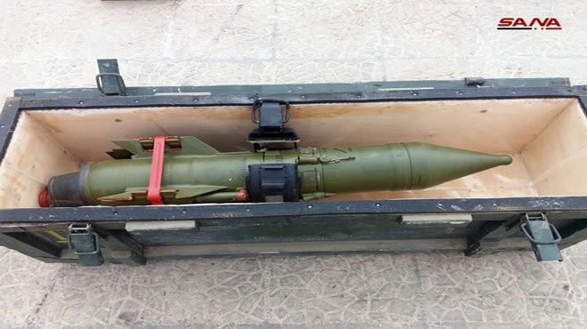 """Phát hiện kho vũ khí lớn của các nhóm """"nổi dậy"""" ở ngay Damascus ảnh 2"""