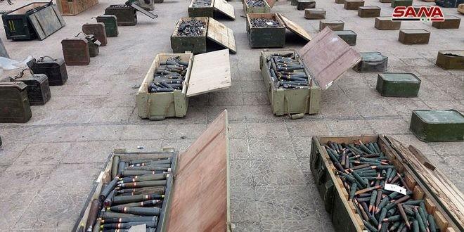 """Phát hiện kho vũ khí lớn của các nhóm """"nổi dậy"""" ở ngay Damascus ảnh 4"""