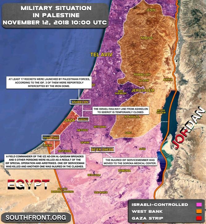 Israel ám sát tướng Palestin, Hamas phóng hàng trăm tên lửa ảnh 1