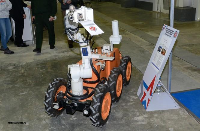 Nga phát triển tổ hợp robot tiên tiến phòng chống Vũ khí hủy diệt lớn ảnh 1