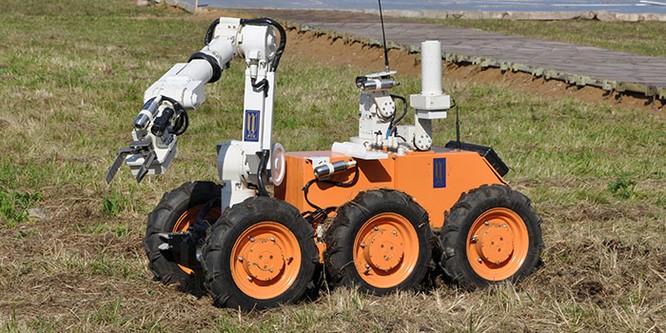 Nga phát triển tổ hợp robot tiên tiến phòng chống Vũ khí hủy diệt lớn ảnh 2