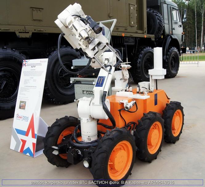 Nga phát triển tổ hợp robot tiên tiến phòng chống Vũ khí hủy diệt lớn ảnh 3