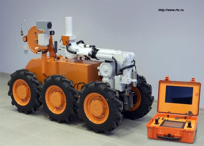Nga phát triển tổ hợp robot tiên tiến phòng chống Vũ khí hủy diệt lớn ảnh 4