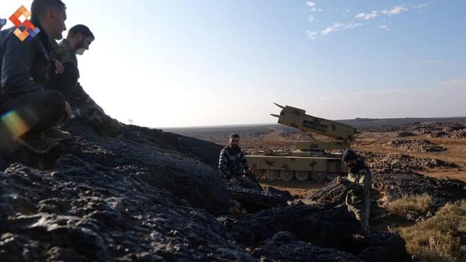 Quân đội Syria tập trung những vũ khí hủy diệt lớn nhất về Al-Safa ảnh 1
