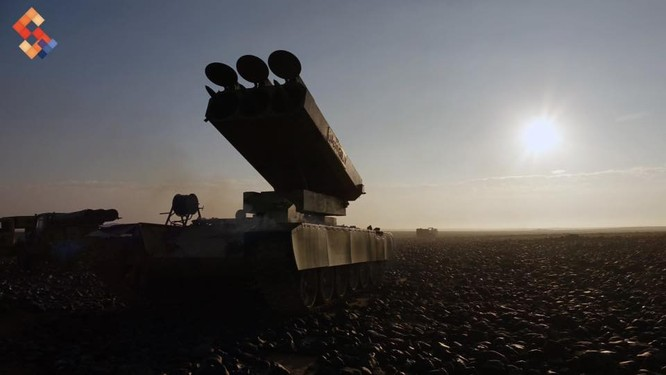Quân đội Syria tập trung những vũ khí hủy diệt lớn nhất về Al-Safa ảnh 2