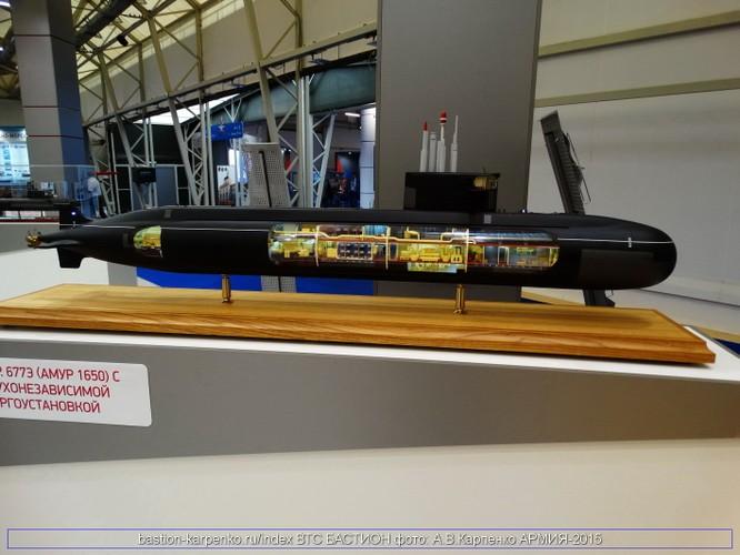 Hải quân Nga đẩy mạnh phát triển tàu ngầm thế hệ 5, sử dụng trạm nguồn yếm khí AIP ảnh 5