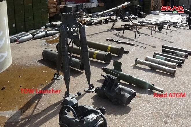 """Quân đội Syria lại phát hiện kho vũ khí mới của """"nổi dậy"""" ở Daraa ảnh 3"""