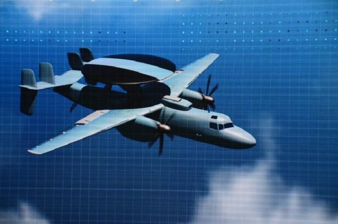 Trung Quốc công bố radar tiên tiến cho AWACS tương lai và tiêm kích ảnh 1