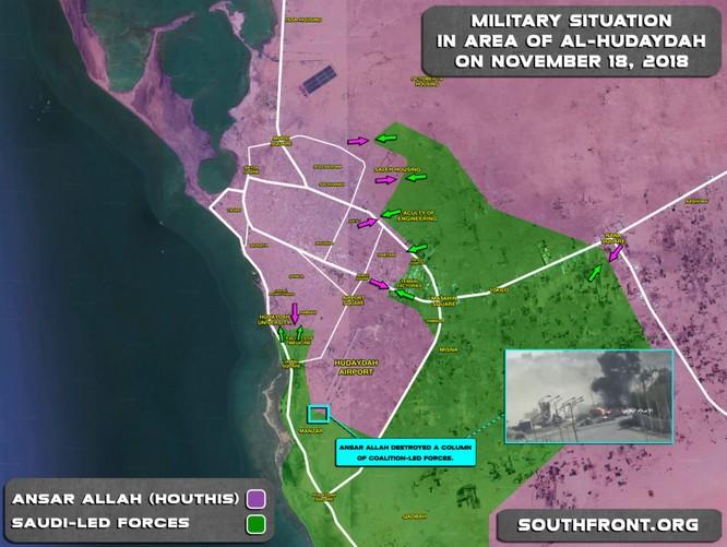 Liên minh Ả rập Xê-út tiếp tục tấn công, Houthi chống trả quyết liệt ảnh 1