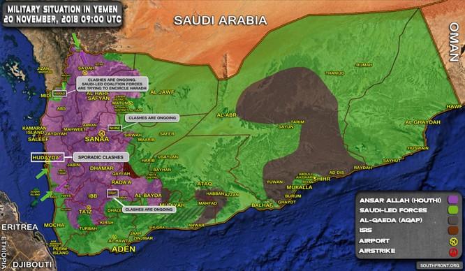 Liên minh Ả rập Xê-út tiếp tục tấn công, Houthi chống trả quyết liệt ảnh 2