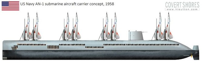 Mỹ có thể phát triển tàu ngầm sân bay trước những đe dọa mới của tên lửa chống tàu Trung Quốc ảnh 4