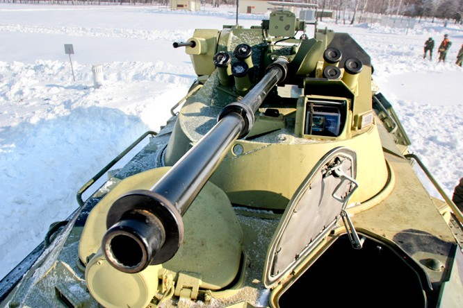 Chuyện ít biết về thiết giáp Hải quân đánh bộ Nga BTR – 80A, một mẫu xe mà Việt Nam có thể nâng cấp từ BTR – 60PB ảnh 1