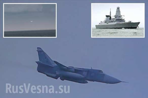 Hải quân Anh choáng váng trước cuộc tập kích mô phỏng của 17 máy bay Nga vào khu trục hạm Duncan ảnh 1