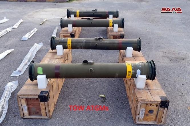 Quân đội Syria lại thu giữ tên lửa chống tăng TOW ở miền nam Syria ảnh 1