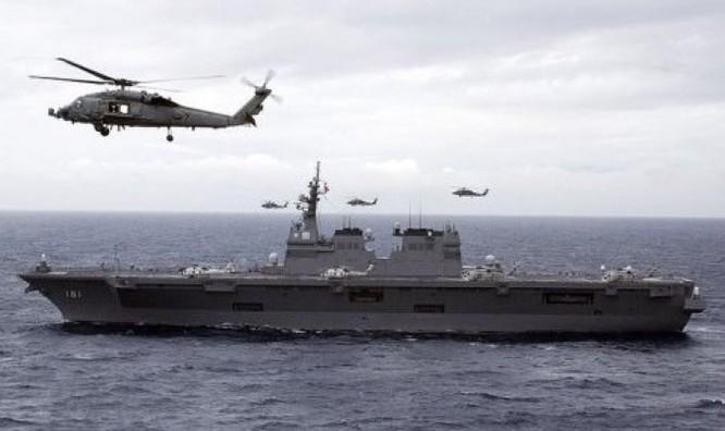 Nhật Bản quyết định mua F-35B cho tàu Izumo, đáp trả sự mở rộng của Trung Quốc trên biển ảnh 1