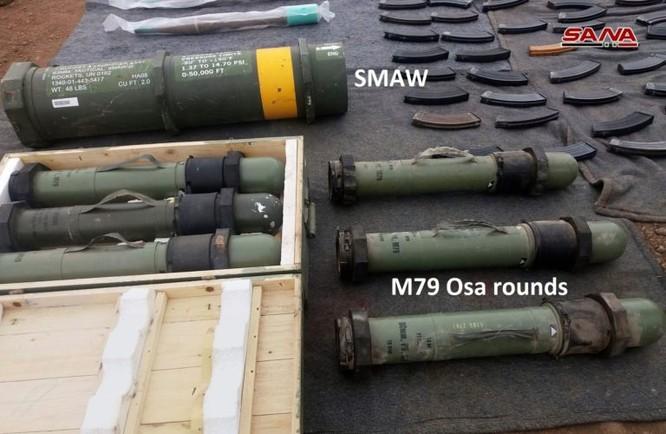 Quân đội Syria tiếp tục thu hoạch vũ khí ở al-Quneitra, tây Ghouta và núi lửa al-Safa ảnh 1