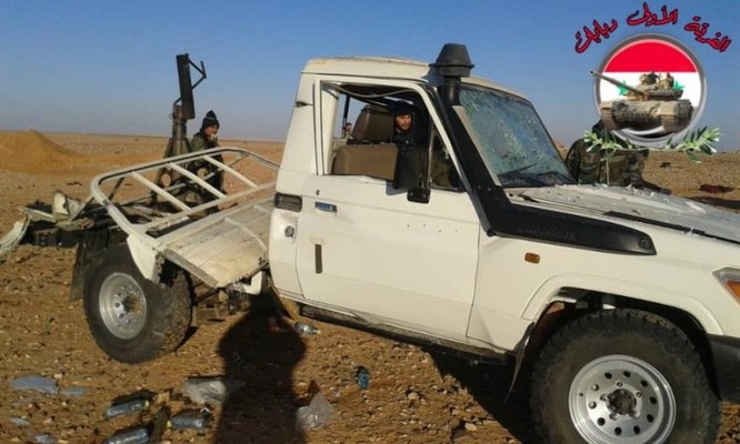 """Quân đội Syria bẻ gãy cuộc tấn công mới của """"quân nổi dậy"""" từ căn cứ do Mỹ kiểm soát ảnh 1"""
